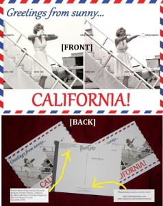 1 postcard for $3, or 5 postcards for $10!